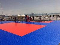 IT FIPAV Response VB 3 x 3 Naples 2016 during